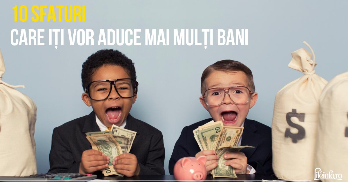 cum să faci bani doar sfaturi inteligente)